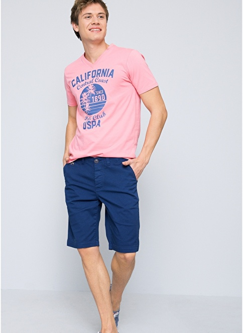 U.S.Polo Assn. Tişört Pembe